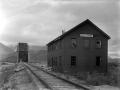 Abandoned Miles Glacier Station and bridge